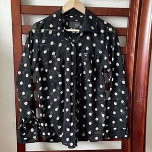 Women's hurley button up blouse